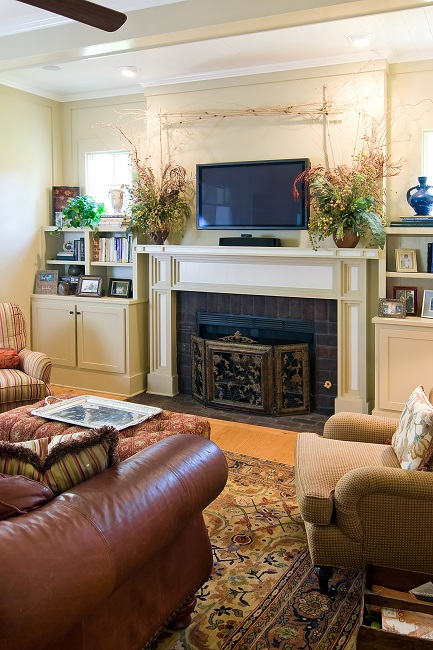 Mounting A TV Above The Fireplace